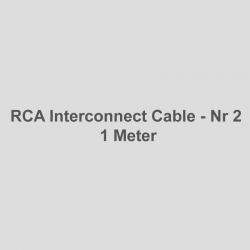 RCA Interconnect Nr 2