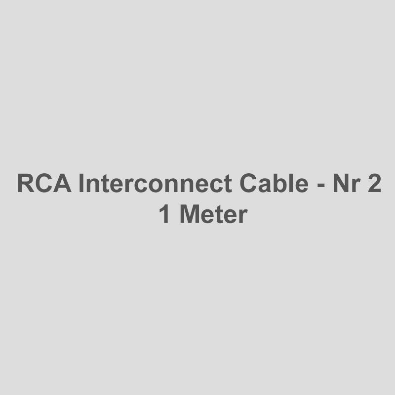 RCA Interconnect Nr 2