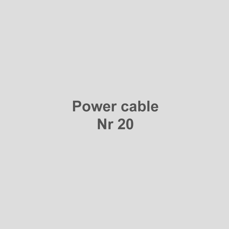 Power cable Nr 20