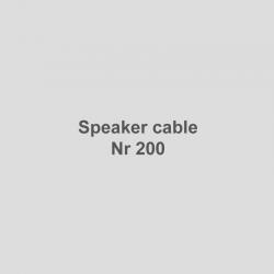 Lautsprecherkabel Nr 200